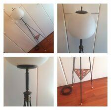 tripode lampada piantana anni 50 60 floor lamp vintage stilnovo arredoluce style