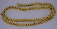 233 Grams Miami Cuban Link Chain Necklace 10K Solid YG 11 MM gold 32inch ASAAR