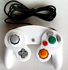 Nuevo Controlador Joypad Gamepad Blanco Clásico Con Cable para Wii de Nintendo Gamecube GC &
