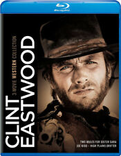 Clint Eastwood: 3-Movie Western Collection [New Blu-ray] 3 Pack, Snap Case
