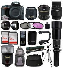 Cámaras digitales negro D5500 Nikon D