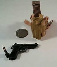 toys city USAF CCT HALO pistol n holster 1/6 Soldier story dragon bbi gi joe Dam