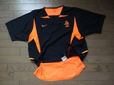 Netherlands Holland 100% Authentic Player Issue Soccer Jersey L 2002/03 Away