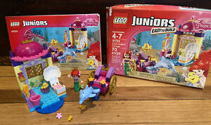 LEGO 10723 Juniors Disney Ariel's Dolphin Carriage Retired 100% COMPLETE