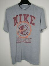 Nike Just Do It Basketball T-shirt Gray Men's Size Large Excellent Condition