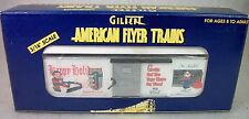 AMERICAN FLYER BY LIONEL: 48327 1997 HOLIDAY BOX CAR LN ORIGINAL BOX