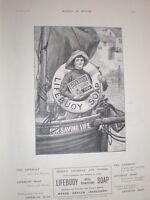 Brookes Monkey Soap Norman Prescott Davies art ad 1890