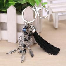 Dream Catcher Keyring Key Chain Ring Tassel Bag Pendant Phone Silver Boho Gift