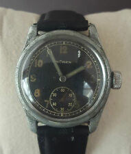 VINTAGE MILITARY C1945 BUREN GRAND PRIX MILITARY WATCH - WORKING