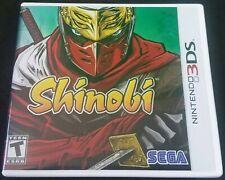 Shinobi (Nintendo 3DS, 2011) SEGA in Great Shape