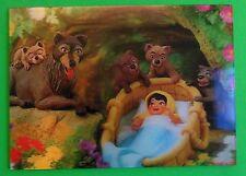 Walt Disney 3-D Postcard c 1966-Jungle Book Baby/Mowgli 1967-W C Jones c Int '67