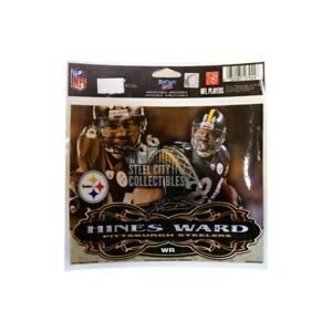 "Pittsburgh Steelers Hines Ward Ultra Decal 4""x6"""