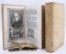 Denis Petau RATIONARIUM TEMPORUM 2 voll Venezia 1758 Latino Storia Genealogia