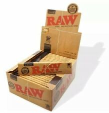 More details for raw classic authentic king size slim rolling papers - 50 packs box🤪
