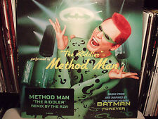 "METHOD MAN + RZA - THE RIDDLER (+REMIX) (12"")  1995!!!  RARE!!!"