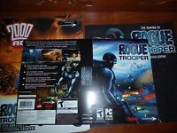 Making of 2000 AD Rogue Trooper game - Rare Collector's Items
