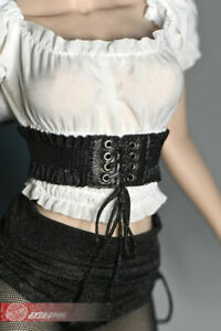 """1/6 Scale Female Drawstring Girdle Waistband Belt Clothes for 12"""" Action Figure"""