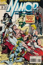 4 CT Namor the Sub-Mariner (1990 1st Series) #10 +28 + 49 + 52 VF to NM Marvel