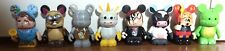 Disney Vinylmation Lot of 8 Figures Toy Story Si Am Goth Tea Fire Dragon Blue