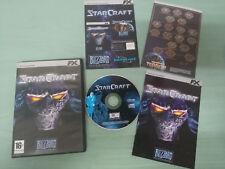 STARCRAFT JUEGO PARA PC CD-ROM + PEGATINAS ESPAÑOL FX INTERACTIVE BLIZZARD