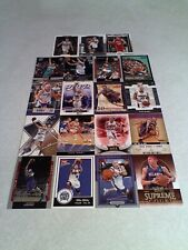 Mike Bibby:  Lot of 155 cards.....92 DIFFERENT / Basketball