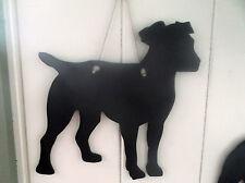 Long leg Jack Russell TERRIER DOG SHAPED chalk board blackboard birthday pet