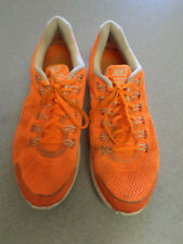 "Nike ""LunarGlide 4"" dayglow orange, lightweight running shoes. Men's 13"