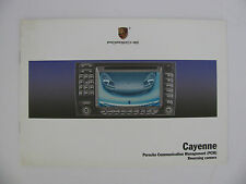Porsche pcm cayenne navigation system owners manual from 2005