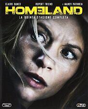 Homeland - Stagione 5 (3 Blu-Ray) Serie Tv Cofanetto