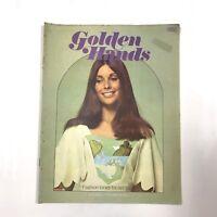 1971 Golden Hands Craft Knitting Sewing Crochet Pattern Fashion Vintage Magazine
