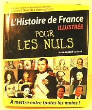 """livre pour les nuls """"l'histoire de France pour les nuls"""" édition 2005 -760 pages"""