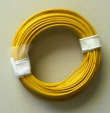 YELLOW 22-Gauge Single Strand Copper Plastic Coated Wire 32' HOBBY ACCESSORY