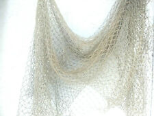 Authentic Used Fishing Net Brown Color Coastal, Beach Craft Decor