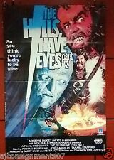 """The Hills Have Eyes Part II 39x27"""" Original Lebanese Movie Poster 80s"""