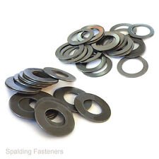Metric Self Colour Steel Shim Washers - 1mm Thick