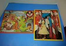 Two Jaymar inlaid Puzzles▪Walt Disney 1961 Babes in Toyland & mickey Mouse Club