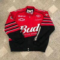 Jeff Hamilton Racing Collection Dale Earnhardt Jr Budweiser NASCAR Jacket XL