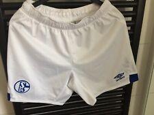 Umbro FC Schalke 04 Herren Home Short Heim Hose 18/19 - 79279U weiß