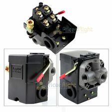 4 Port Air Compressor Pressure Switch Control Valve 95 125 Psi With Unloader New