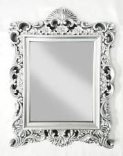 54CM BLACK Baroque Shabby Chic Filigree Rocco Large Wall Mirror Home Decor GIFT