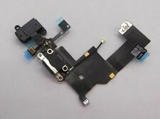 iPhone 5 Black Charging Port Dock Connector headphone Flex Cable ,mic
