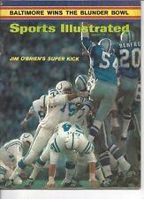 1971 1/25 Sports Illustrated magazine football Dallas Cowboys Baltimore Colts LR