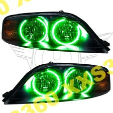 ORACLE Halo HEADLIGHTS for Lincoln LS 00-02 GREEN LED Angel Demon Eyes