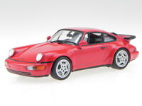 Porsche 911 964 Turbo 1990 red diecast modelcar 940069102 Maxichamps 1:43