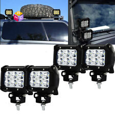 """Cube LED Work Light Bar Fog Driving Pods Lamp Spot Beam For OffRoad 4x4 4WD 4""""IN"""