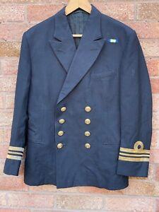 Royal Navy Officer Lieutenant Jacket Uniform British Military WW2 Medal Bar