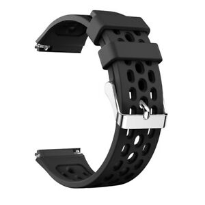 Stylish Silicone Wristband Watch Strap Band Metal Clasps For Huawei Watch GT 2e