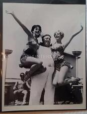 1960's 8 X 10 Photo of bathing beauties with sailor aboard the RMS Caronia