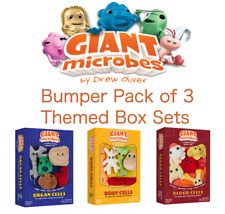 Giant Microbes Bumper Pack of 3 Themed Box Sets Body, Blood and Organ Cells