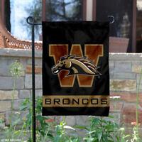 Western Michigan Broncos Garden Flag and Yard Banner